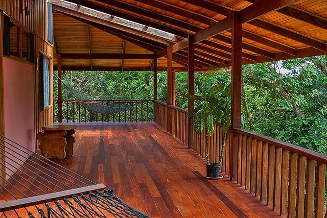 Finca Luna Nueva – Casa Luna: Terrasse zum Relaxen