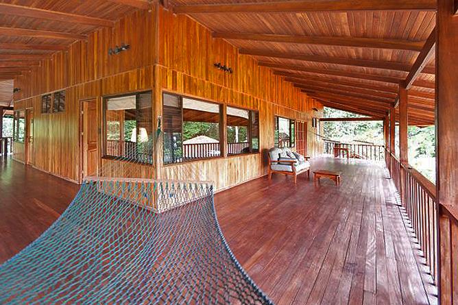 Finca Luna Nueva – Casa Sombra: Terrasse