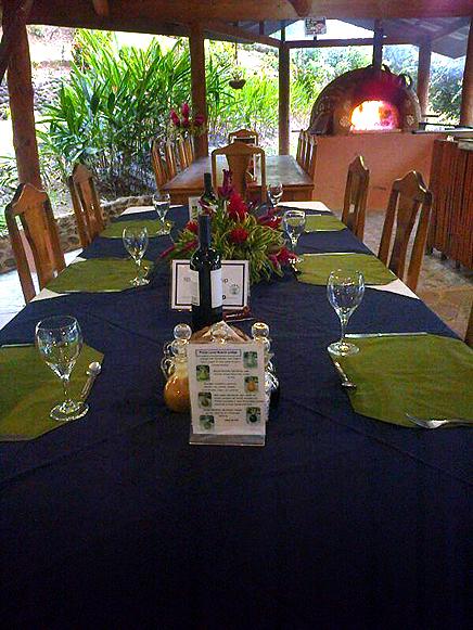 Finca Luna Nueva – Restaurant