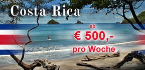 Costa Rica Reisen zu Last-Minute-Preisen