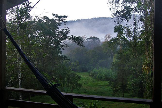 Selva Bananito Lodge – Morgenstimmung