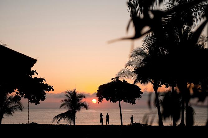 Agua Dulce Resort – Strandblick Sonnenaufgang