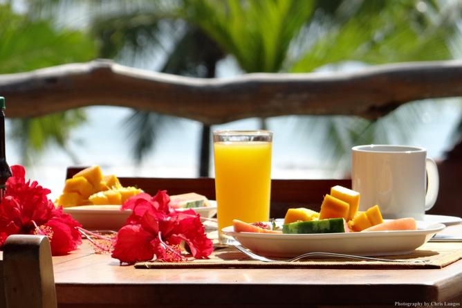 Agua Dulce Resort – Restaurant mit Strandblick