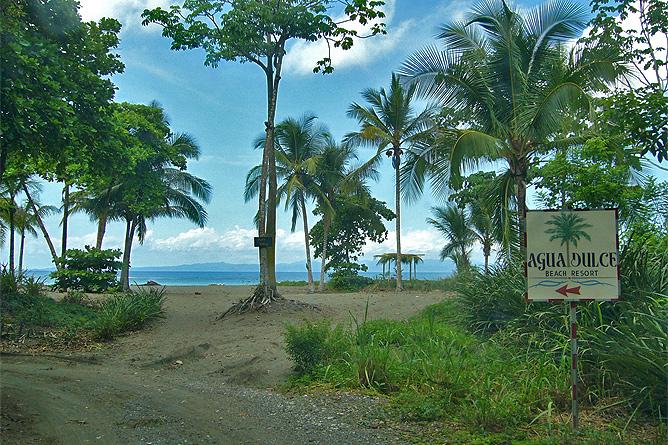 Agua Dulce Resort – Anfahrt zum Hotel