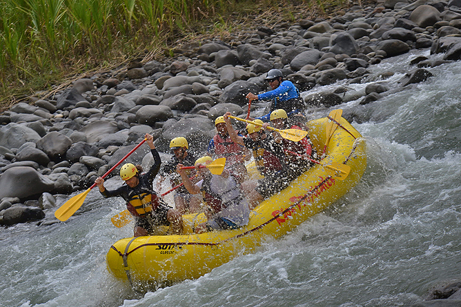 Rio Tropicales – Lodge am Fluss, Pacuare-Rafting