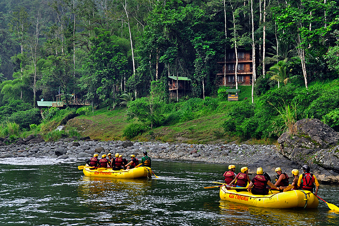 Rio Tropicales – Lodge am Fluss, Rafting