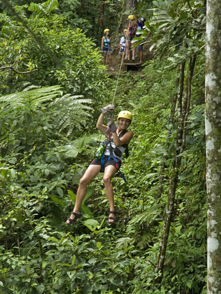Rio Tropicales – Lodge am Fluss, Zipline