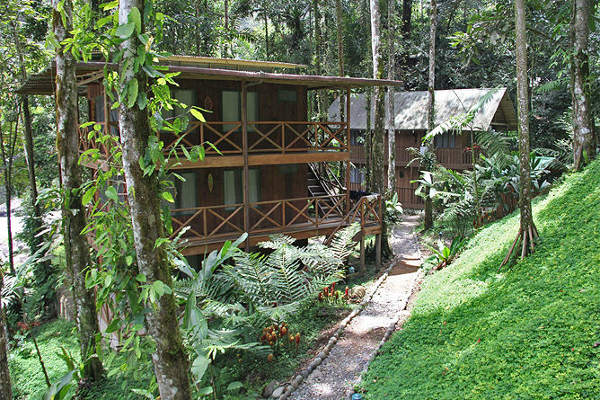 Rio Tropicales – Lodge am Fluss, Unterkünfte