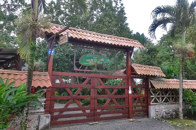 Casa Marcellino – Einfahrt