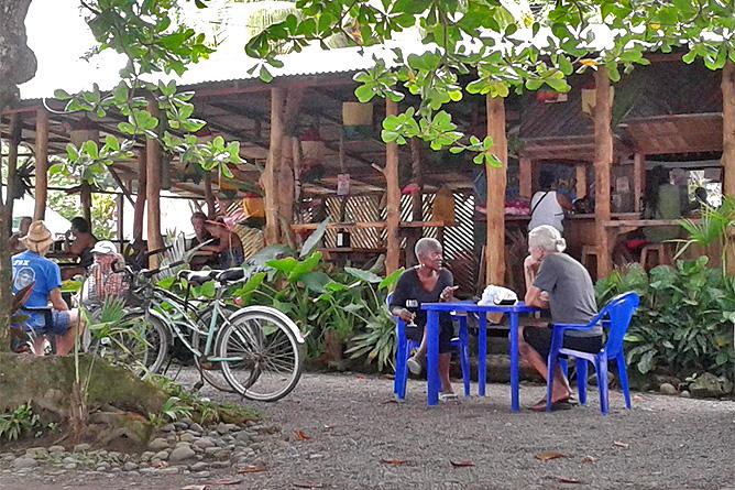 Casa Marcellino – Restaurant Chad's Paradise in Playa Negra