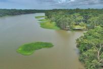 Lirio-Lodge_Lodge-und-Fluss-Madre-de-Dios_Foto-mit-Drohne