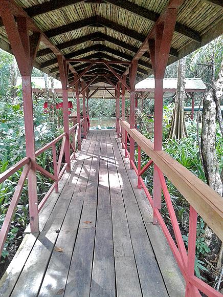 Lirio Lodge Anlegestelle
