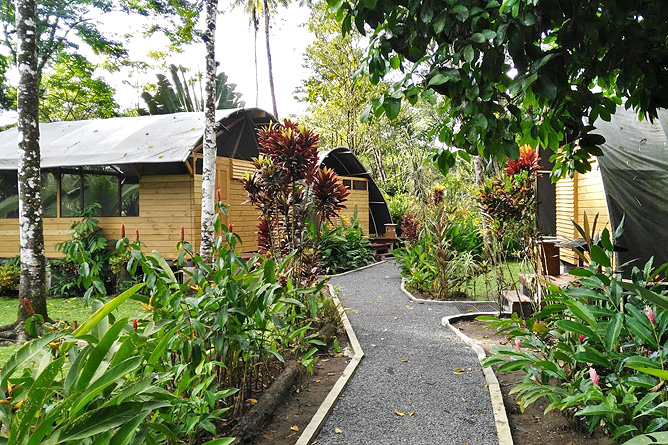 Lirio Lodge Bungalow Anlage