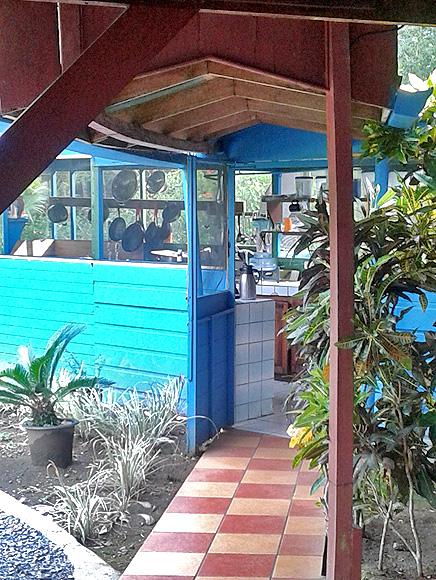 Lirio Lodge Dschungelküche