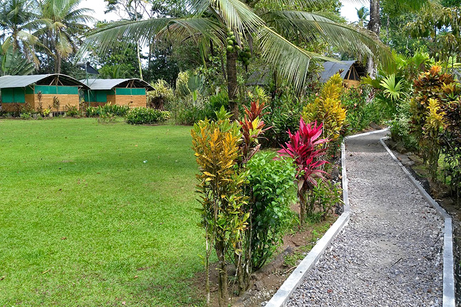 Lirio Lodge Gartenanlage
