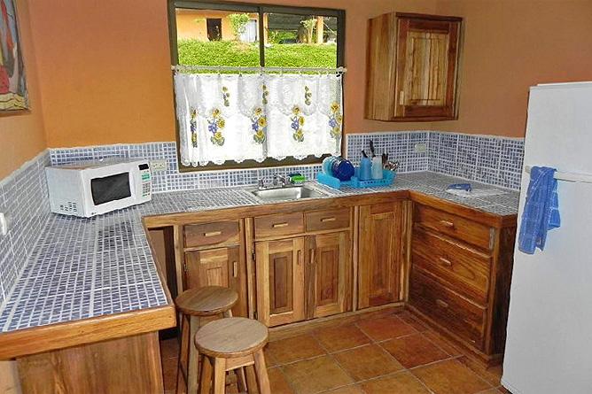 Nephente Bed and Breakfast – Cabaña, Küchenecke