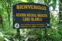 Cabo Blanco Naturreservat_Eingang