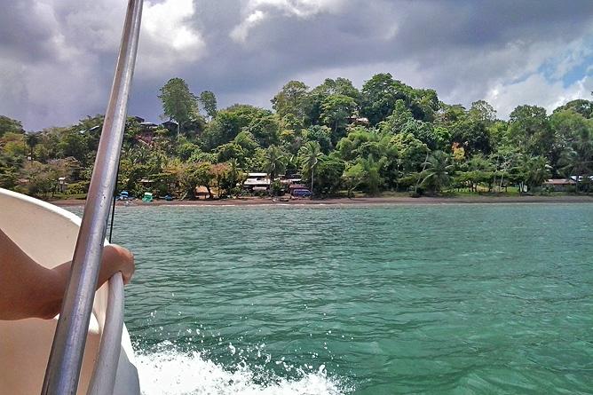 Drake Bay – Boot von Sierpe