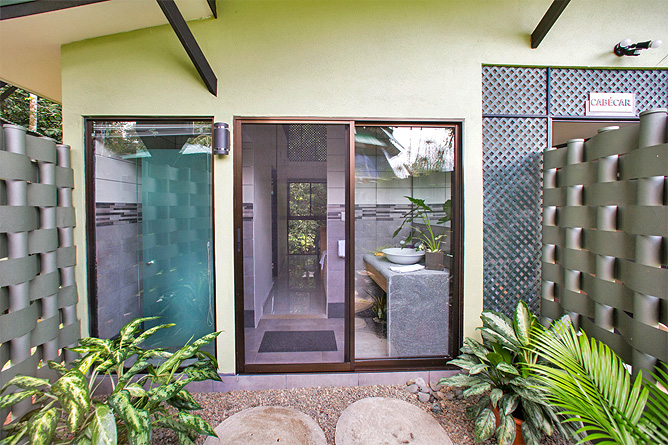 Yaba Chigui Lodge – Außendusche