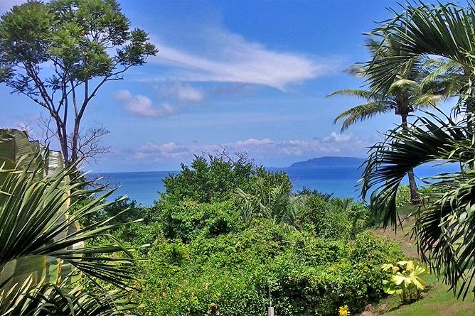 Drake Bay Isla Caño Blick
