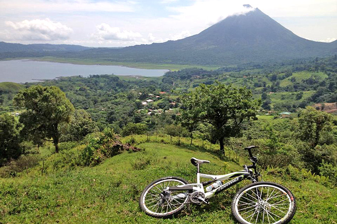 Biking Arenal – 7 Tage-Tour Mountainbiking, Hiking