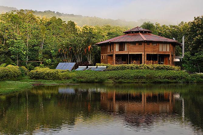 Macaw Lodge – Außenansicht
