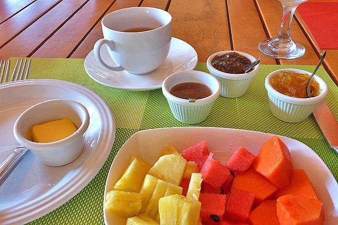 Macaw Lodge – Restaurant, Frühstück