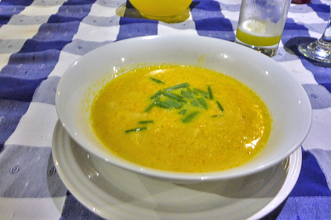 Macaw Lodge – Restaurant, Nampi-Suppe