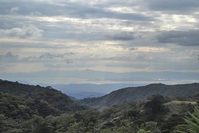 Blick von Monteverde auf den Golf von Nicoya