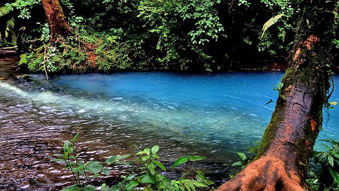 Catarata Río Celeste – Aktiv: Rio Celeste Färbung