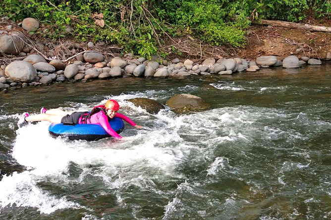 Catarata Río Celeste – Aktiv: Tubing Rio Celeste