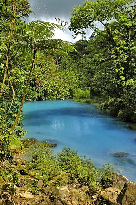 Catarata Río Celeste – Aktiv: Rio Celeste Wasserfallbecken