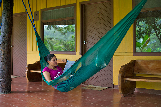 Catarata Río Celeste – Entspannen in der Hängematte