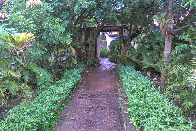 Claro de Luna – Zugang zu Gemüsebeeten