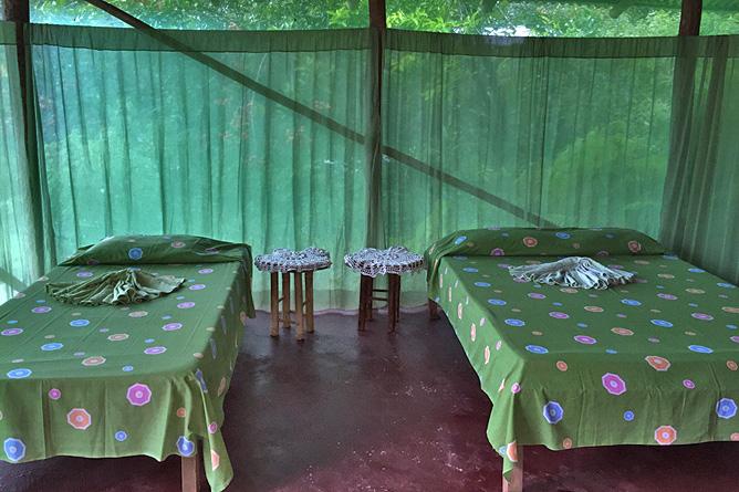 Isla Violín – Cabana-Standard, Doppel- und Einzelbett