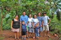 Isla Violín - Familie: Ana, Giovanni, Elisabeth, Isabel, Alberto & Carlos