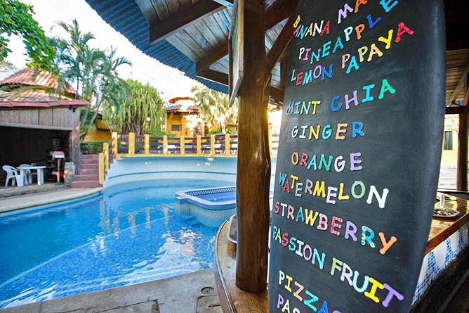Luna Llena Bar am Pool