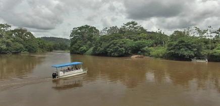 Maquenque-Lodge_Anreise_Fähre_Rio-San-Carlos