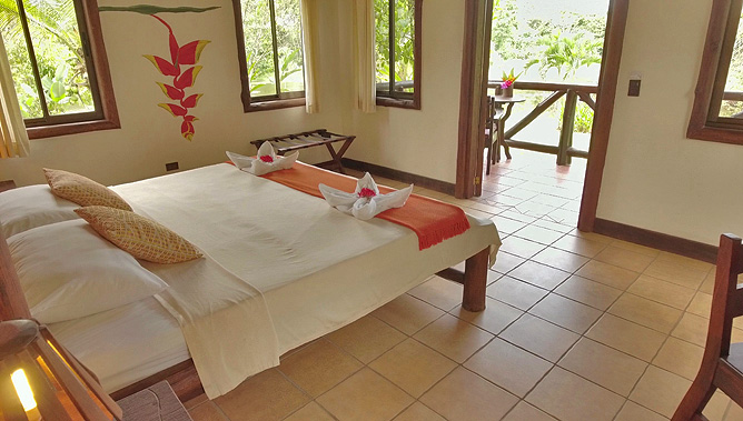 Maquenque Lodge – Bungalow mit Terrasse