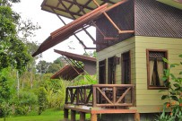 Maquenque Lodge - Bungalow, Aussenansicht