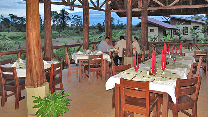 Maquenque Lodge – Restaurant