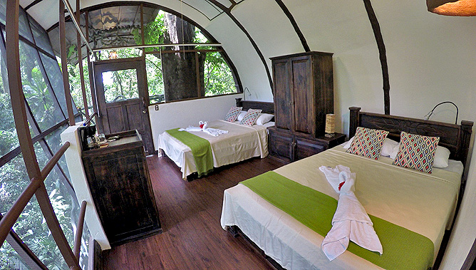 Maqueque Lodge – Tree House, Schlafzimmer