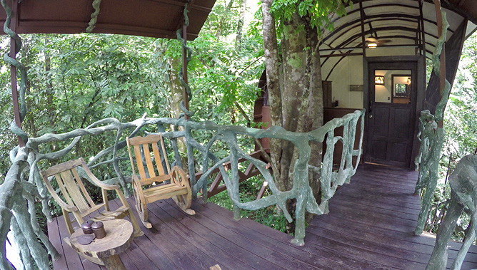 Maqueque Lodge – Treehouse mit Terrasse