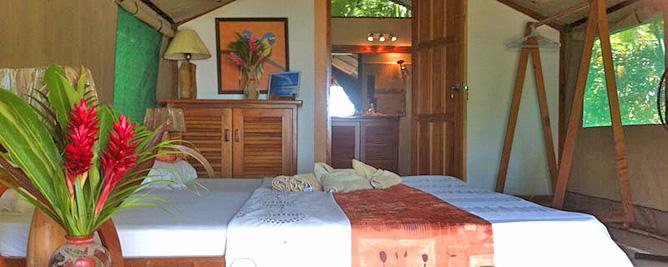Rafiki Beach Camp – Zelt, Betten