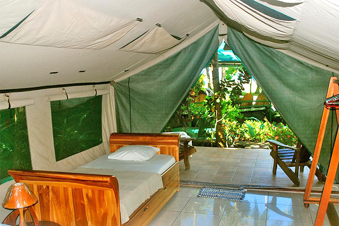 Rafiki Beach Camp – Zelt, Einzelbett