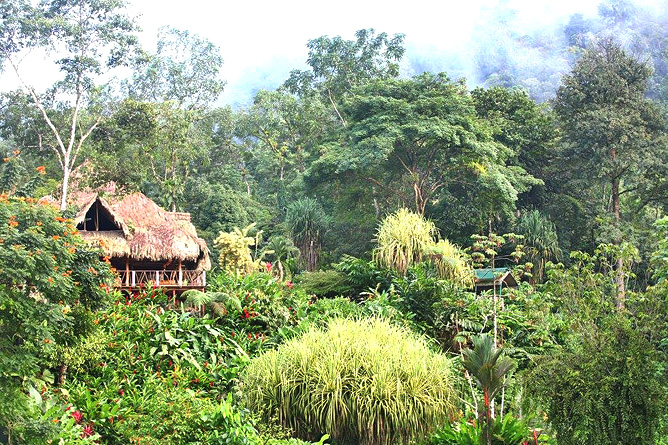 Rafiki Safari Lodge – Aussenanlage