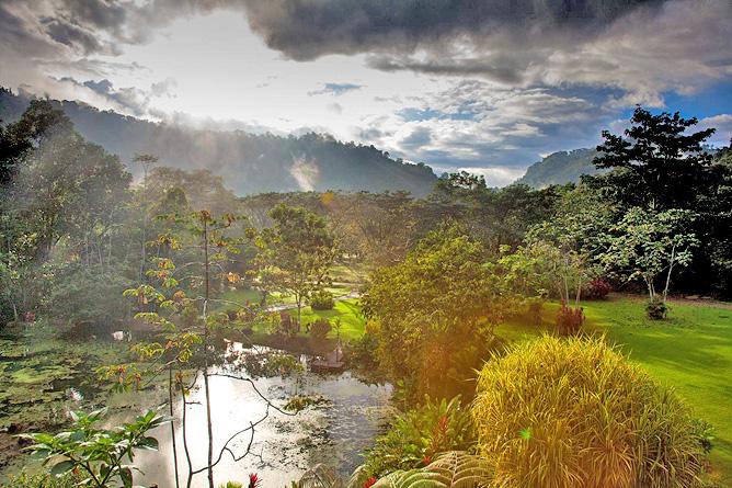 Rafiki Safari Lodge – Blick über das Grundstück