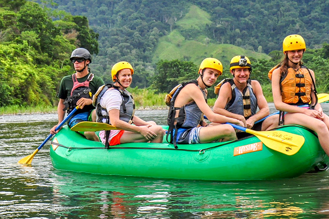 Rafiki Safari Lodge – Rafting-Tour