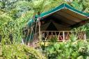 Rafiki Safari Lodge - Safari Zelt Außenansicht