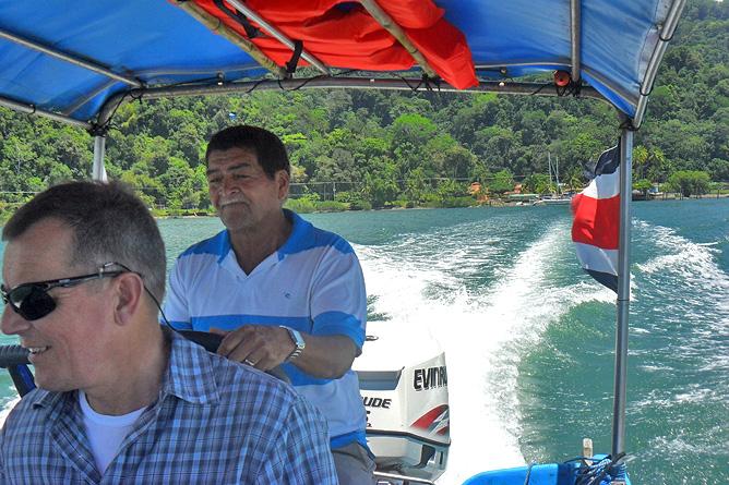 Bootsfahrt Golfito Golfo Dulce Lodge